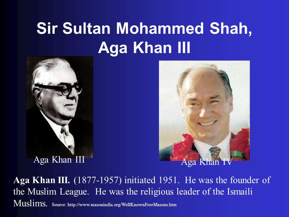Sir Sultan Mohammed Shah, Aga Khan III