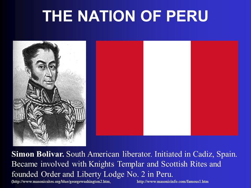 THE NATION OF PERU