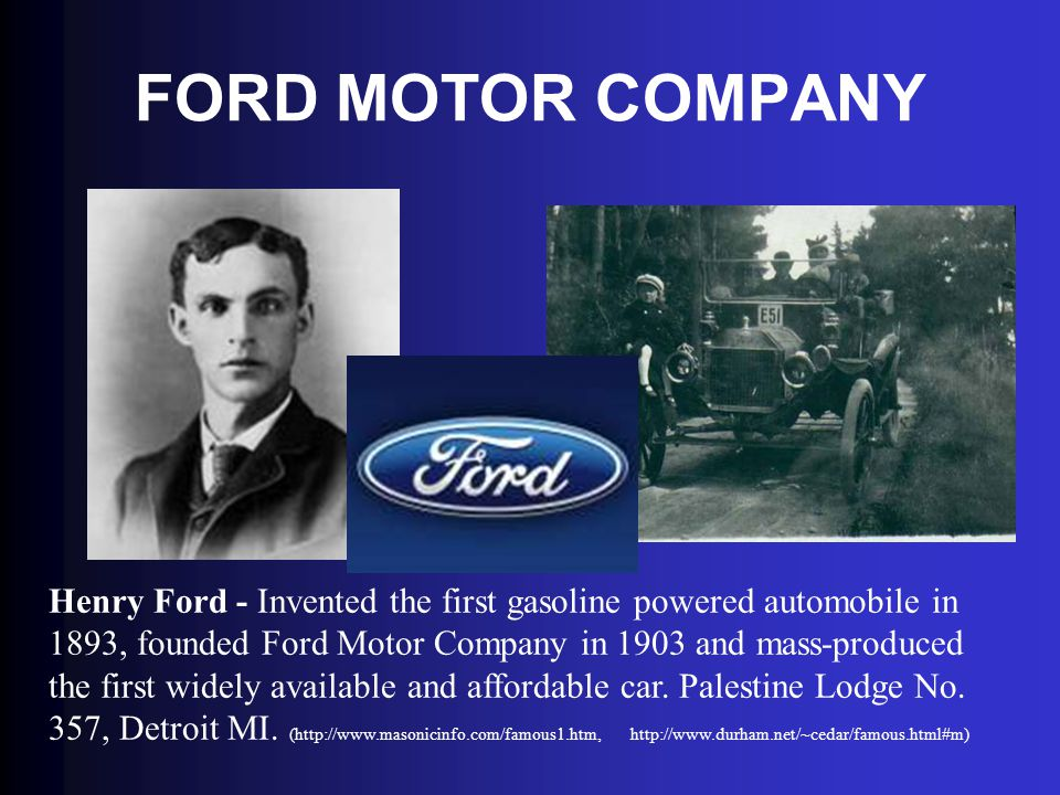 Uncovering freemasonry ppt download for Ford motor company credit card