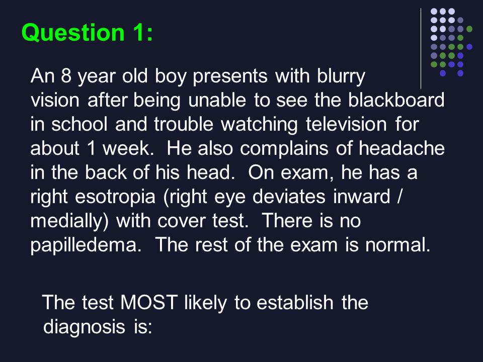 Question 1: