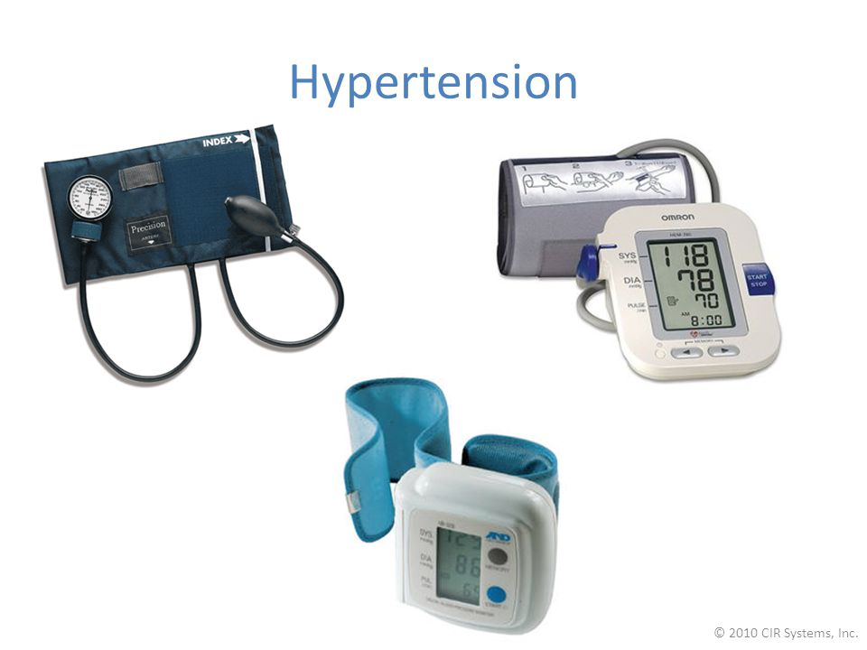 Hypertension © 2010 CIR Systems, Inc.