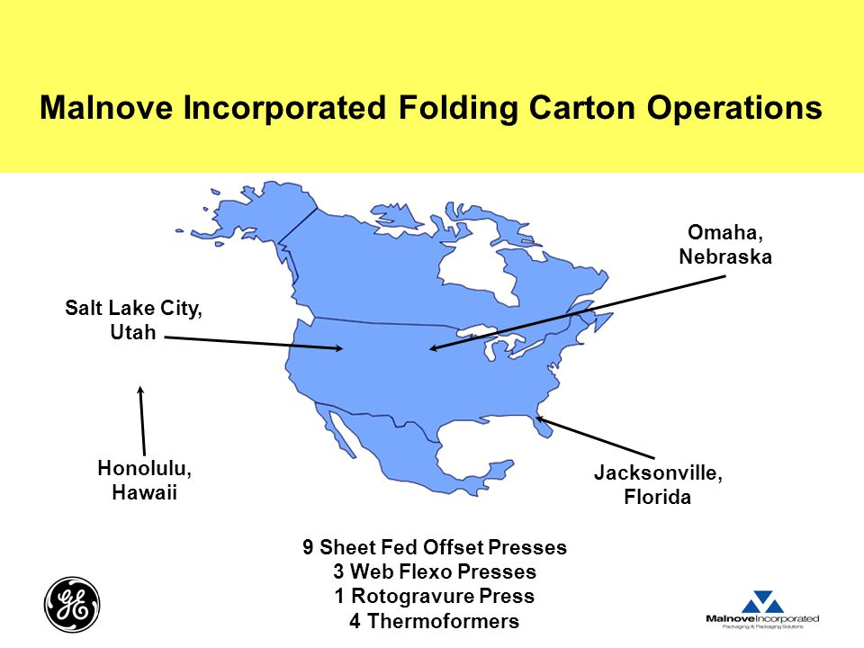 Malnove Incorporated Folding Carton Operations