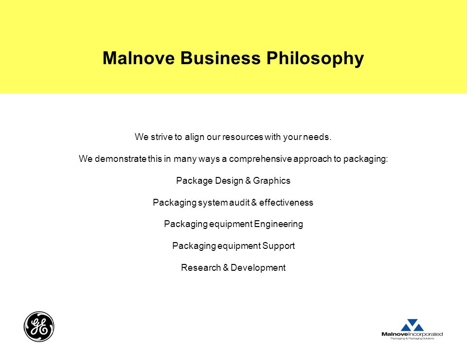Malnove Business Philosophy