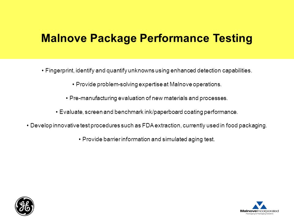 Malnove Package Performance Testing