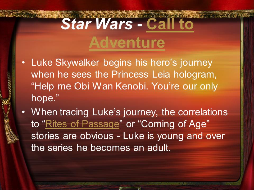 Star Wars - Call to Adventure