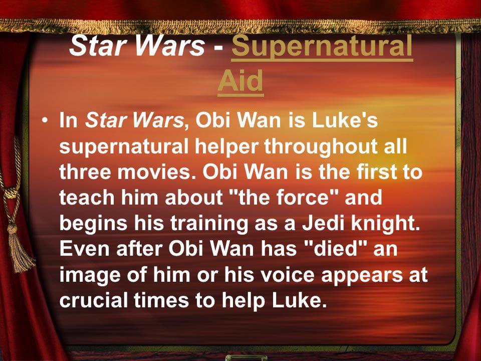 Star Wars - Supernatural Aid