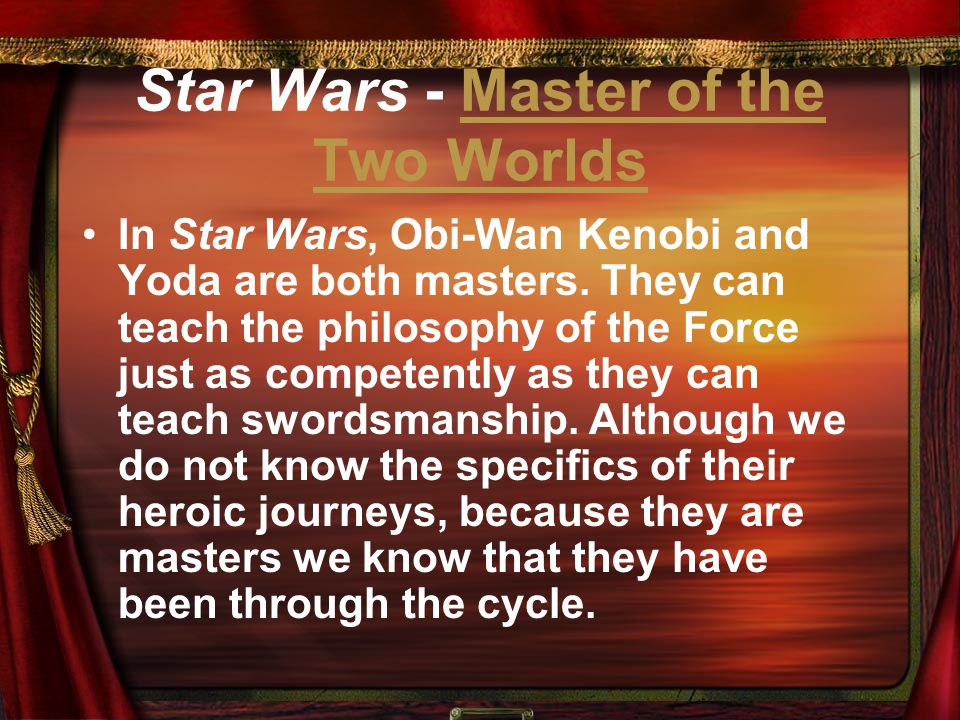 Star Wars - Master of the Two Worlds