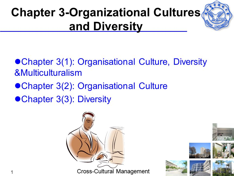 Chapter 3-Organizational Cultures and Diversity