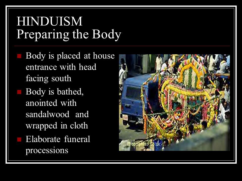 HINDUISM Preparing the Body