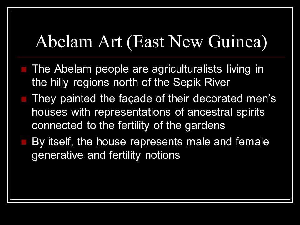 Abelam Art (East New Guinea)