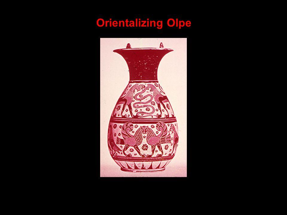 Orientalizing Olpe