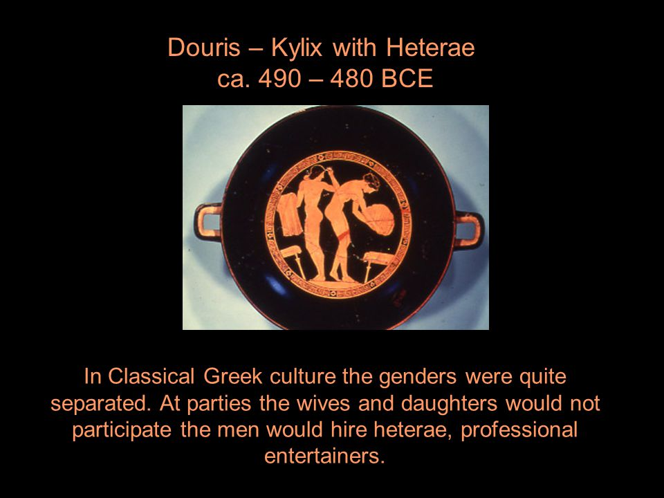Douris – Kylix with Heterae