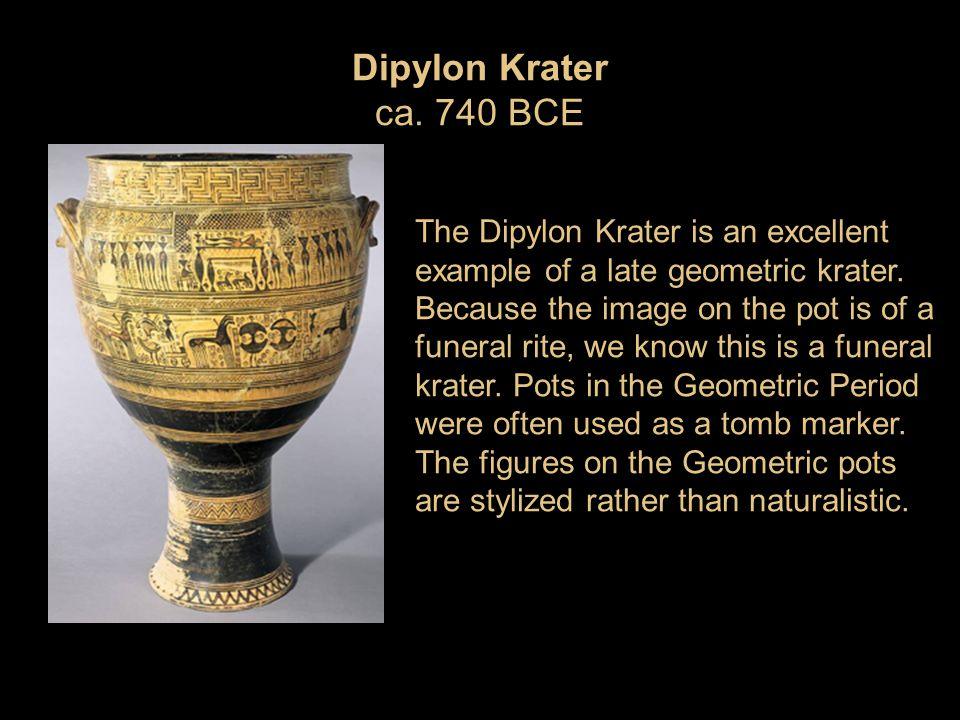 Dipylon Krater ca. 740 BCE