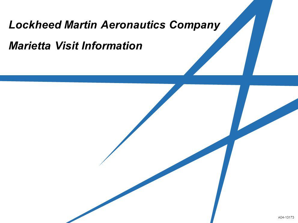 Lockheed Martin Aeronautics Company Marietta Visit Information