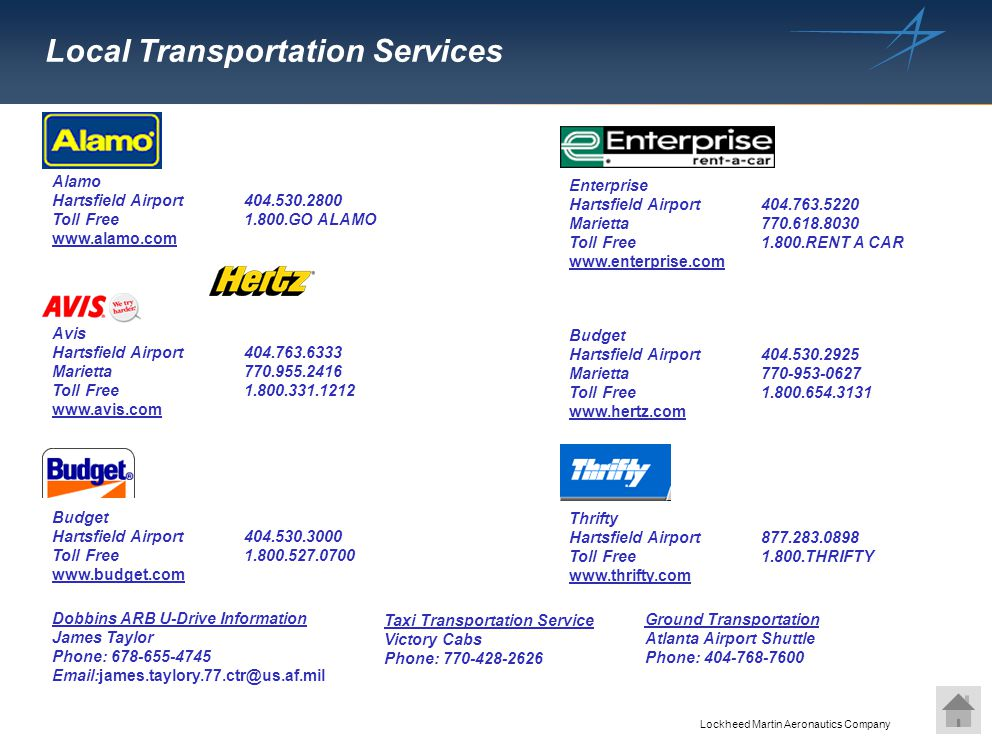 Local Transportation Services