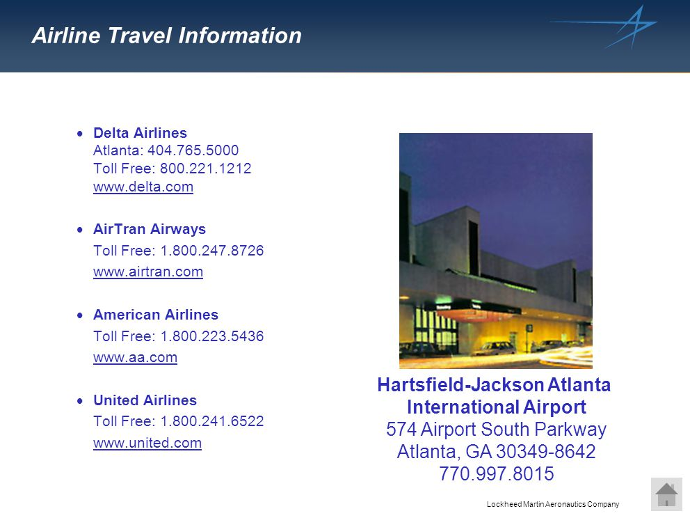 Airline Travel Information