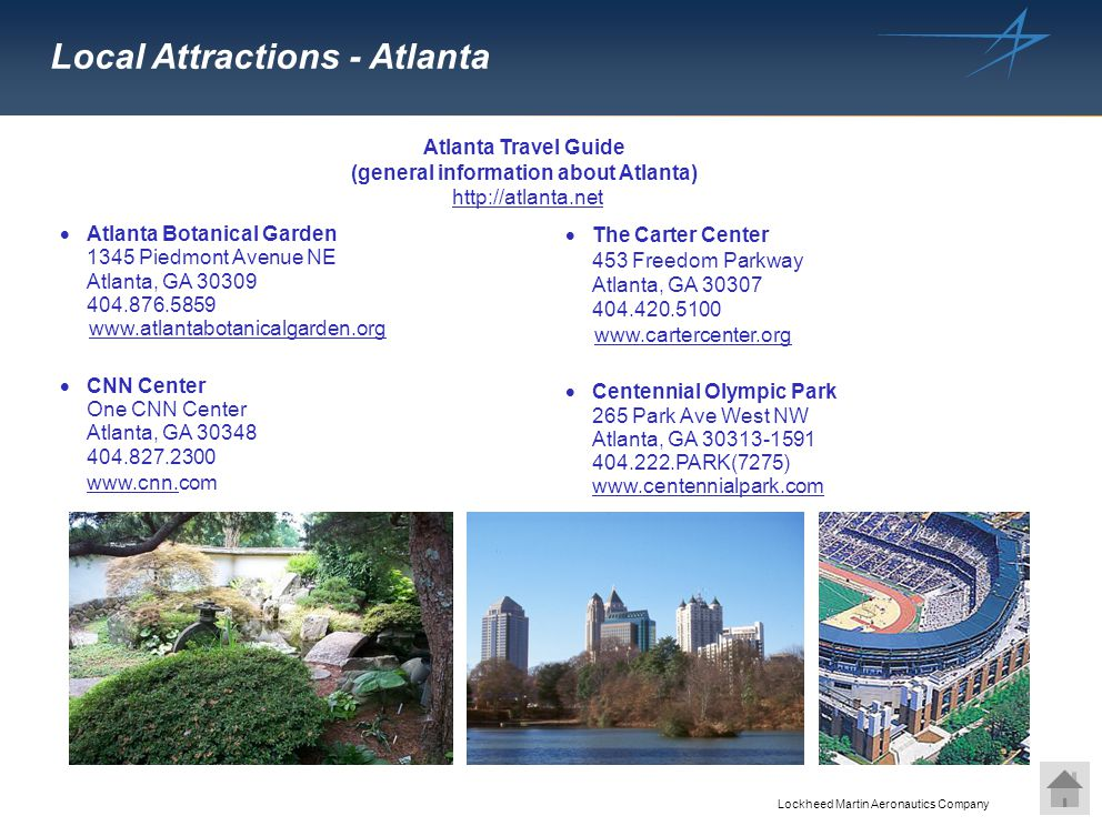 (general information about Atlanta)