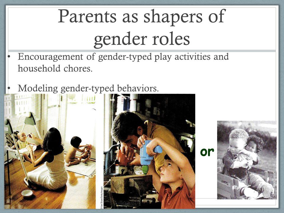 Parents as shapers of gender roles