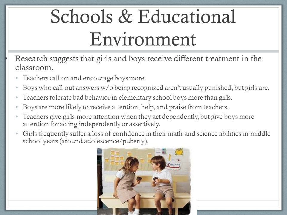 Schools & Educational Environment