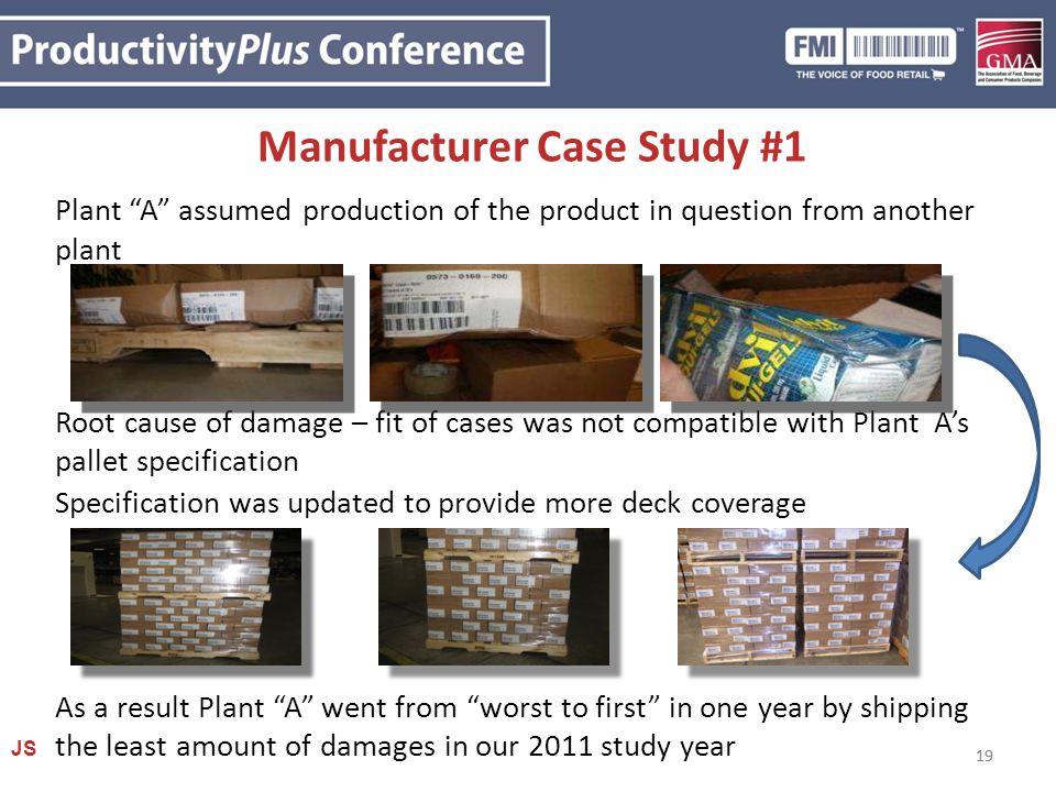 Manufacturer Case Study #1
