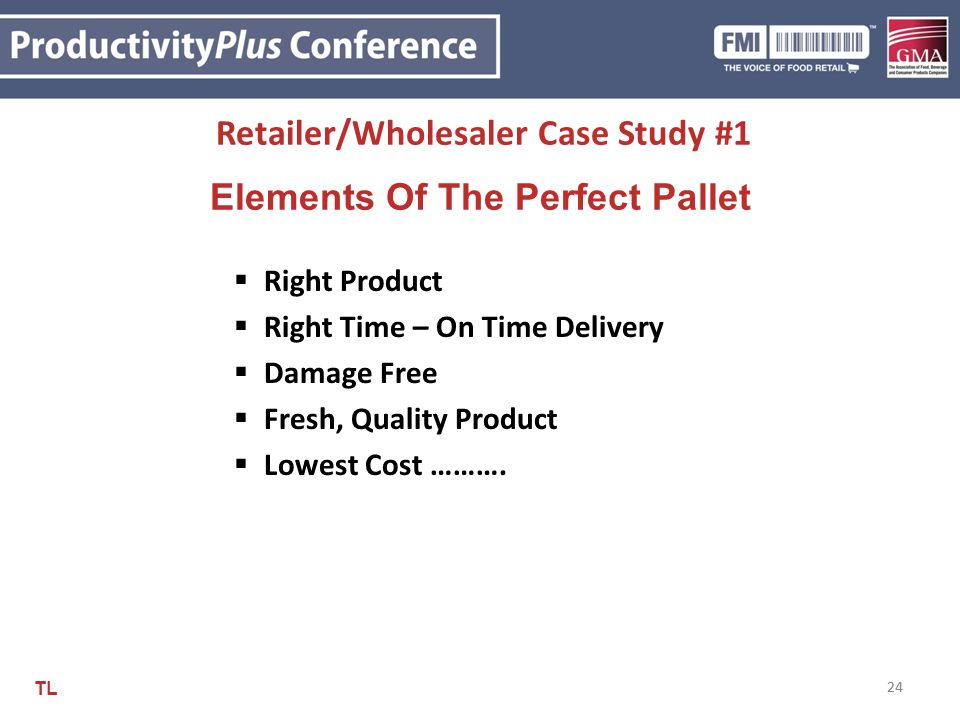 Retailer/Wholesaler Case Study #1