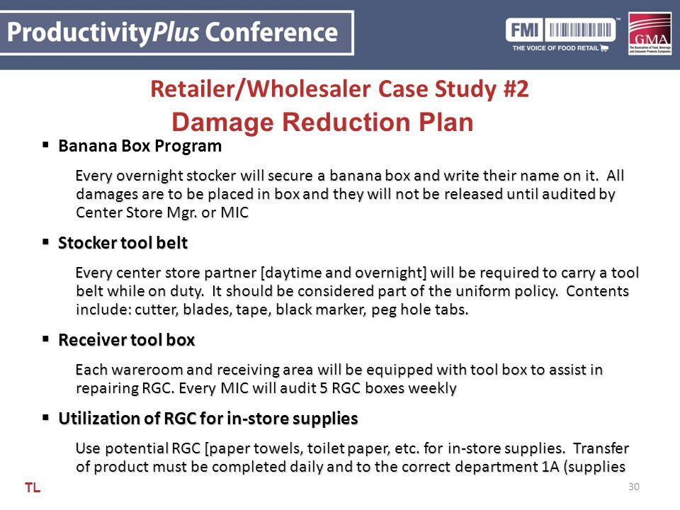 Retailer/Wholesaler Case Study #2