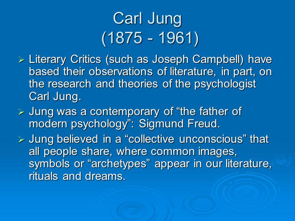 Carl Jung (1875 - 1961)
