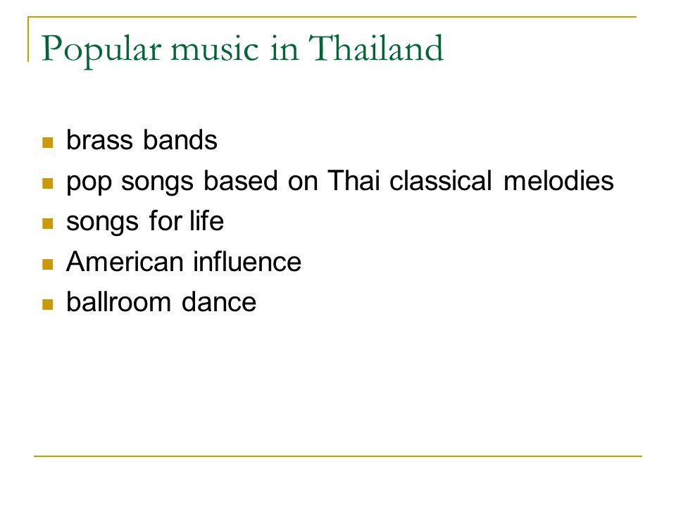 Popular music in Thailand