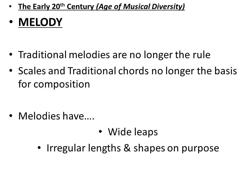 Irregular lengths & shapes on purpose