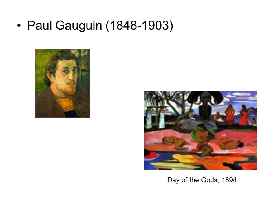 Paul Gauguin (1848-1903) Day of the Gods, 1894