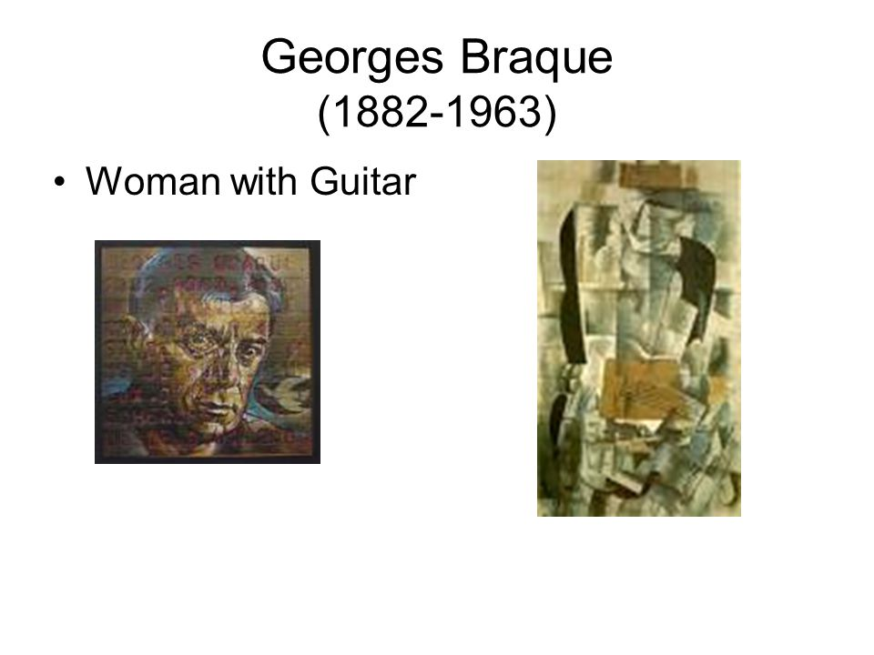 Georges Braque (1882-1963) Woman with Guitar