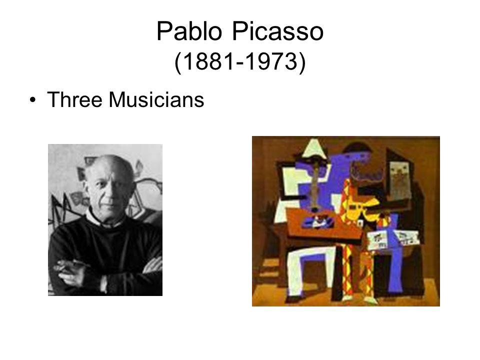 Pablo Picasso (1881-1973) Three Musicians