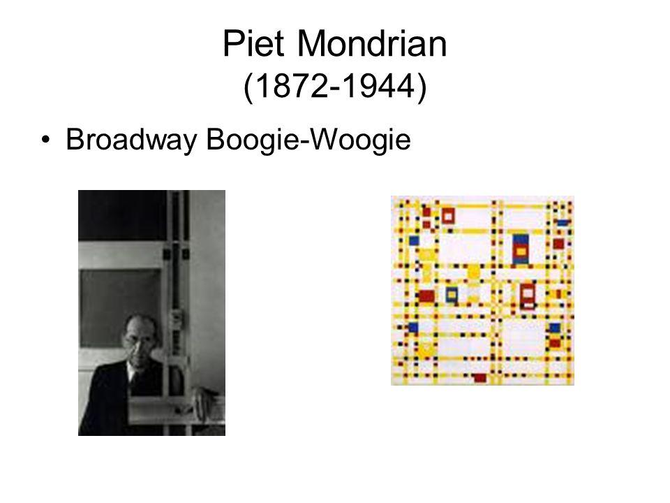 Piet Mondrian (1872-1944) Broadway Boogie-Woogie