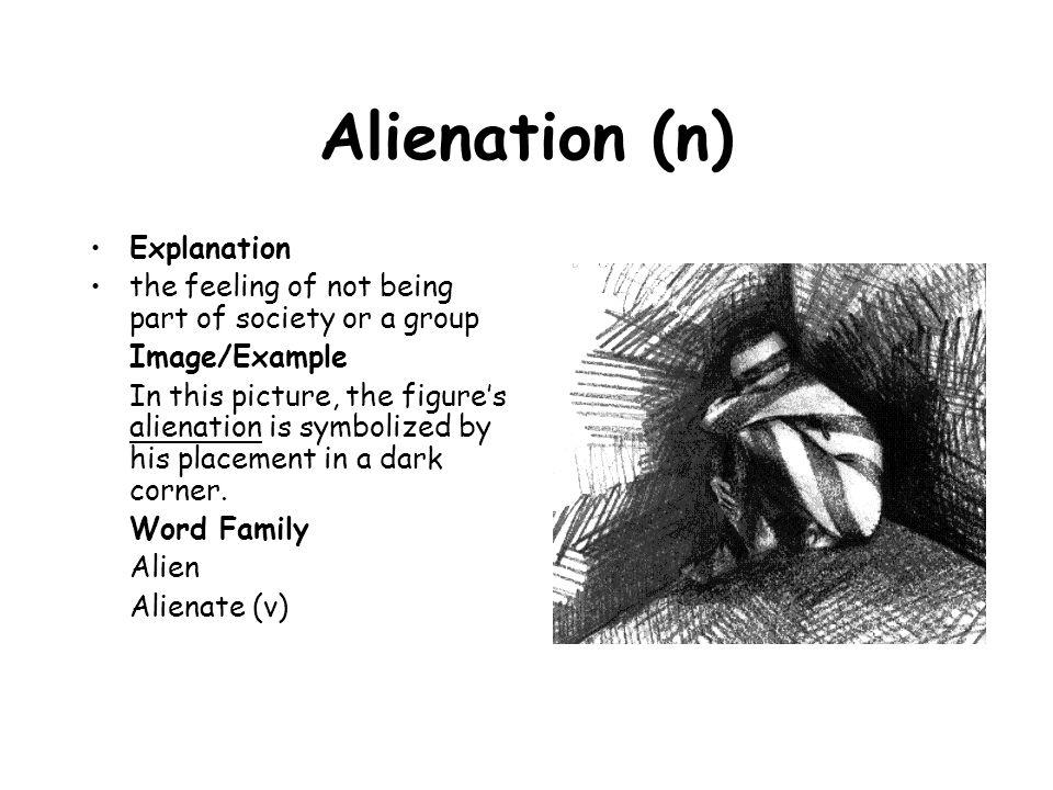 Alienation (n) Explanation