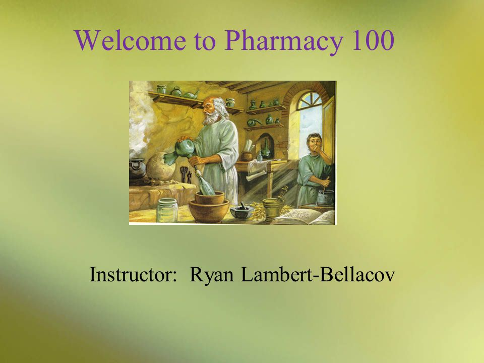 Instructor: Ryan Lambert-Bellacov