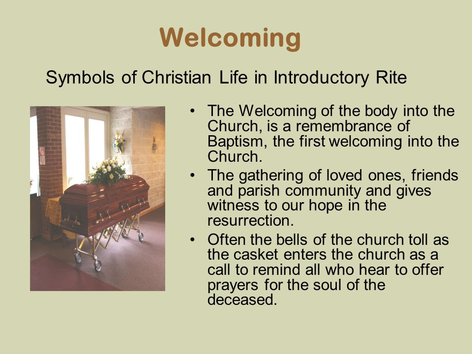 Symbols of Christian Life in Introductory Rite