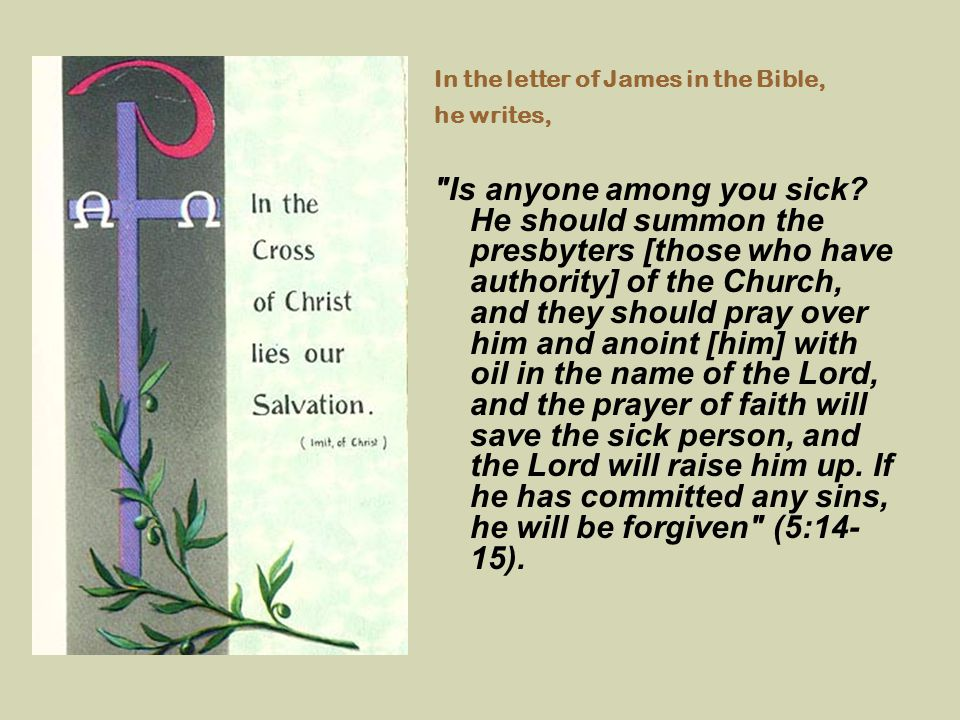 In the letter of James in the Bible,