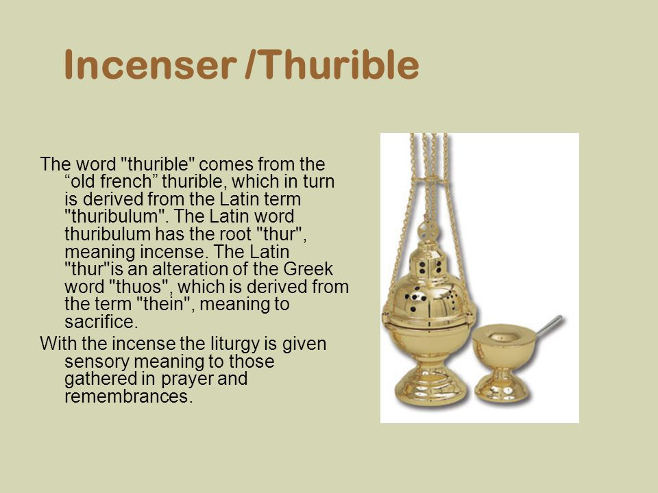 Incenser /Thurible