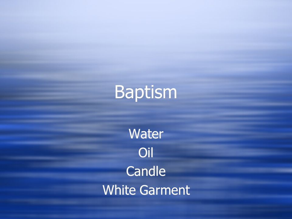 Water Oil Candle White Garment Ppt Video Online Download