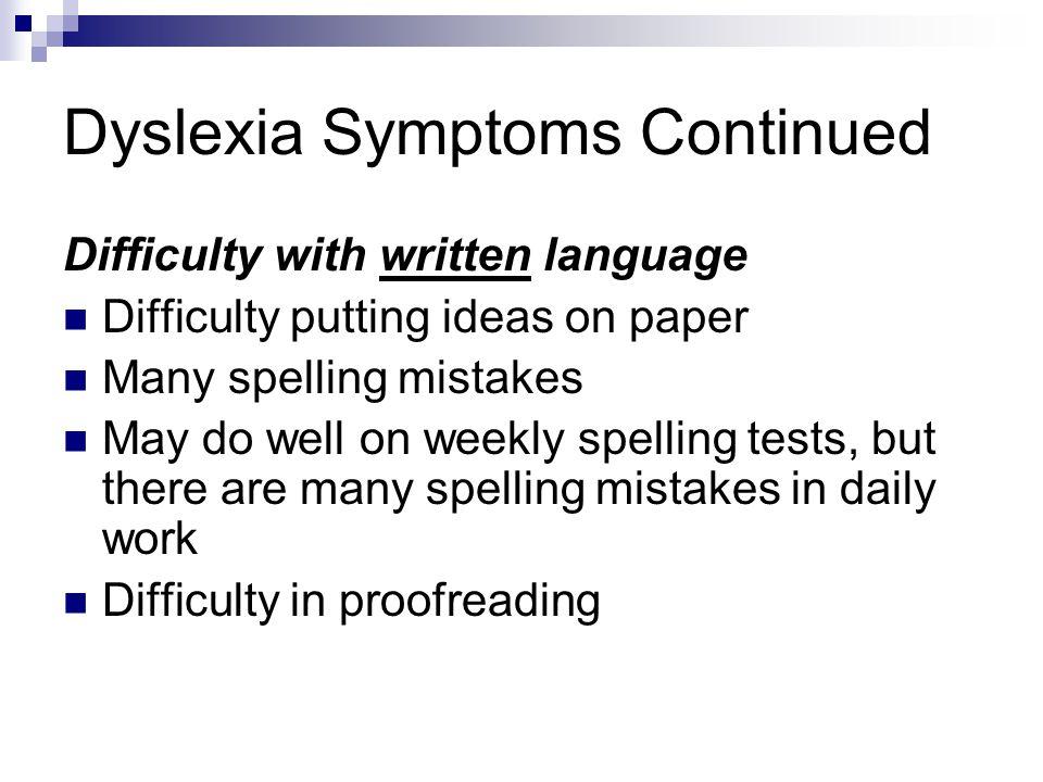 an essay on dyslexia