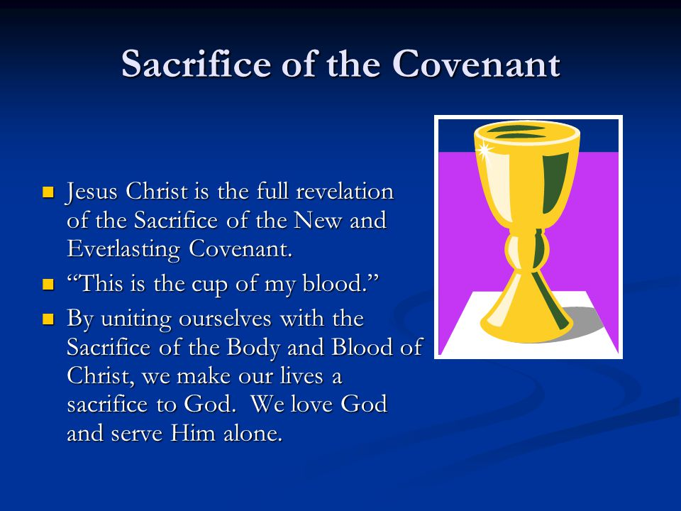 Sacrifice of the Covenant