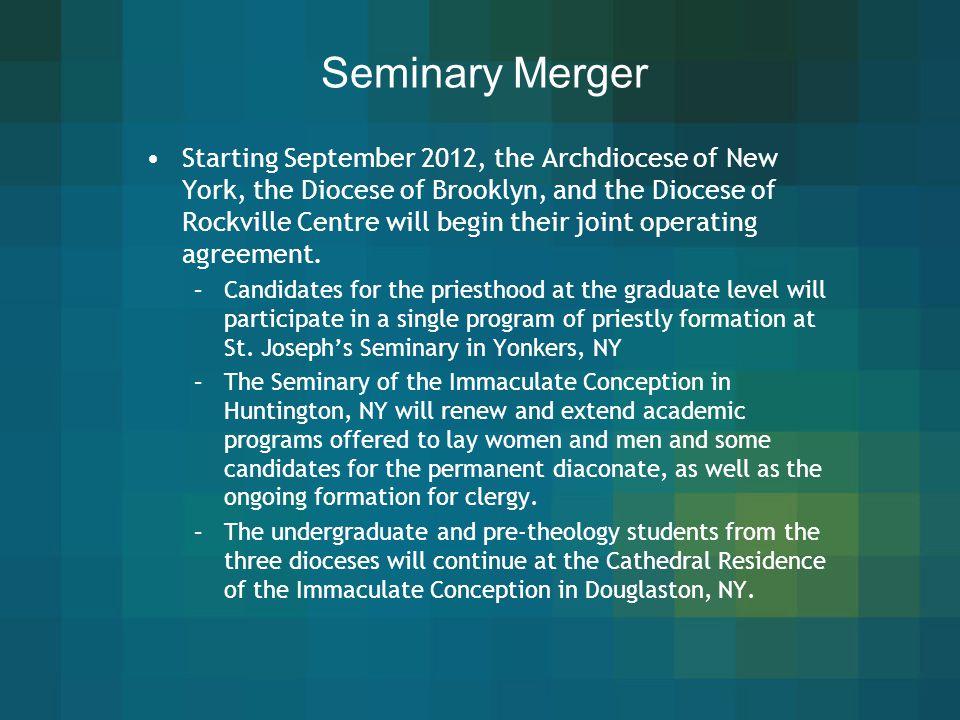Seminary Merger