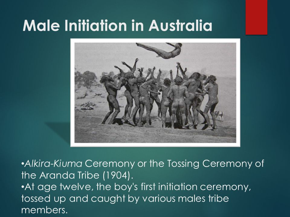 Male Initiation in Australia