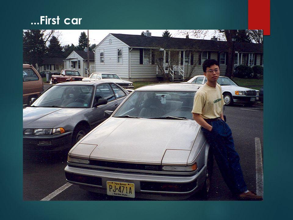 ...First car
