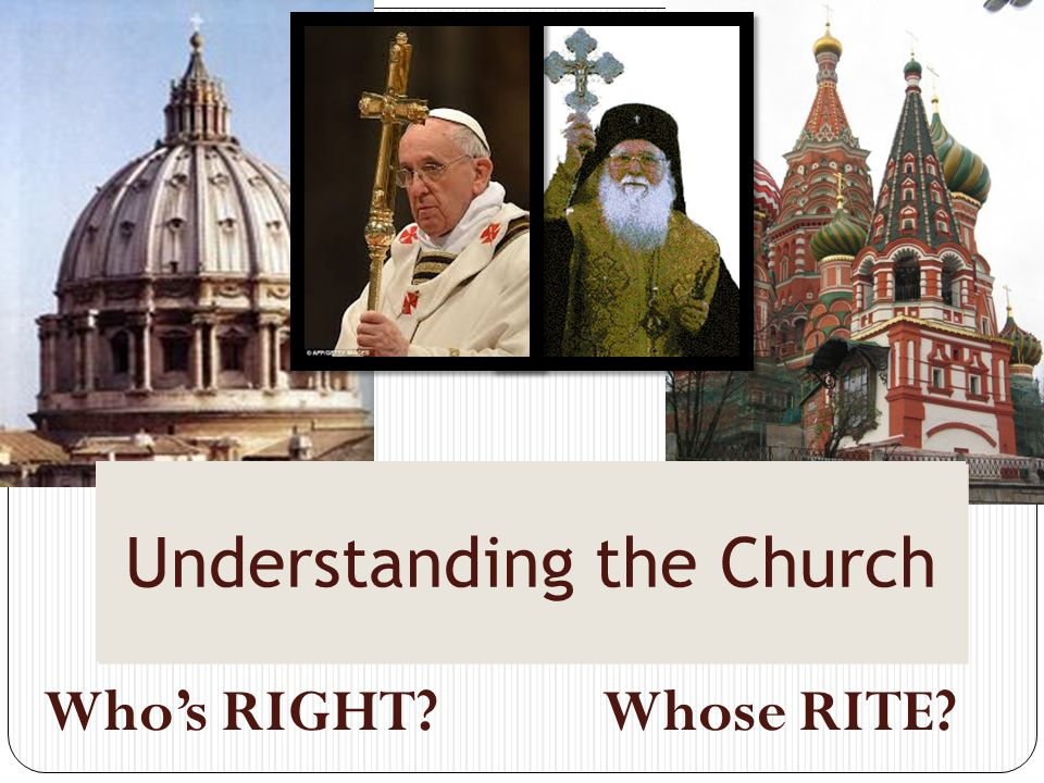 Understanding the Church