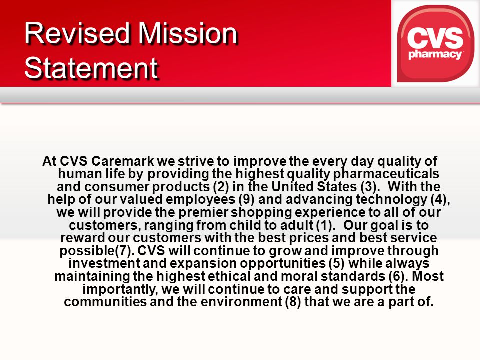 Revised Mission Statement