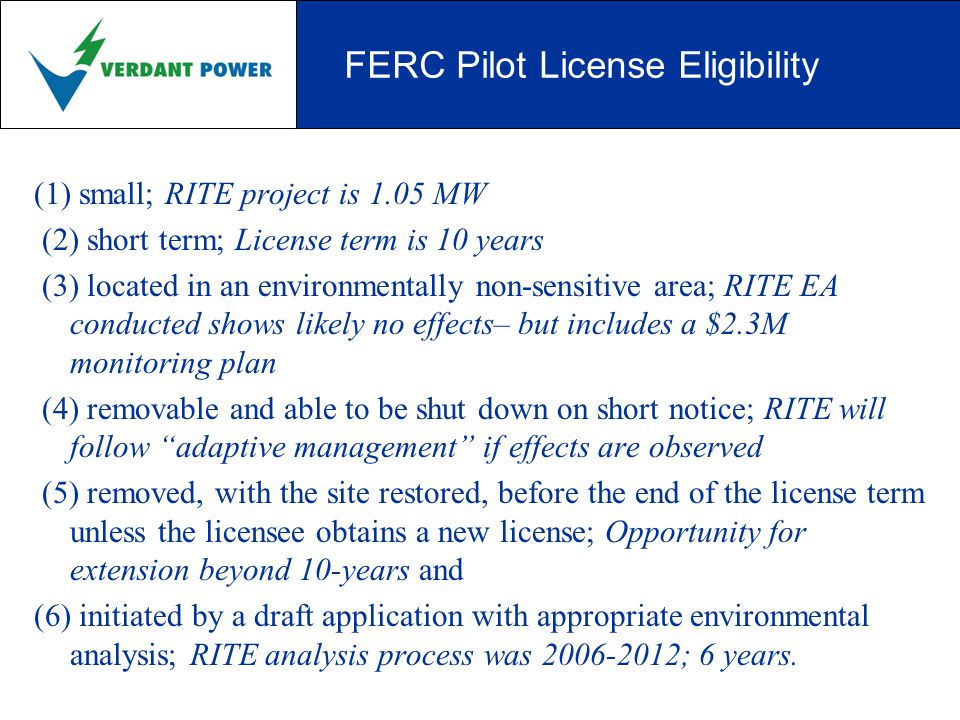 RITE Project - Phase 3 (2012-14) 1 MW = 10, Gen5, 5-m Class Triframes