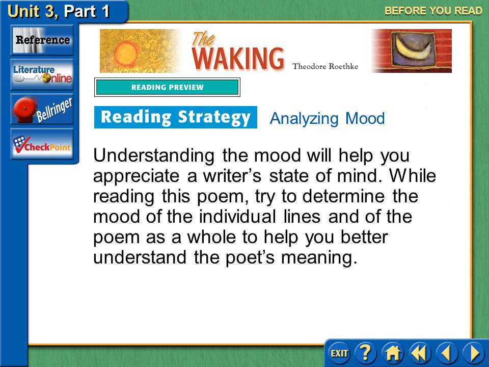 BEFORE YOU READ Analyzing Mood.