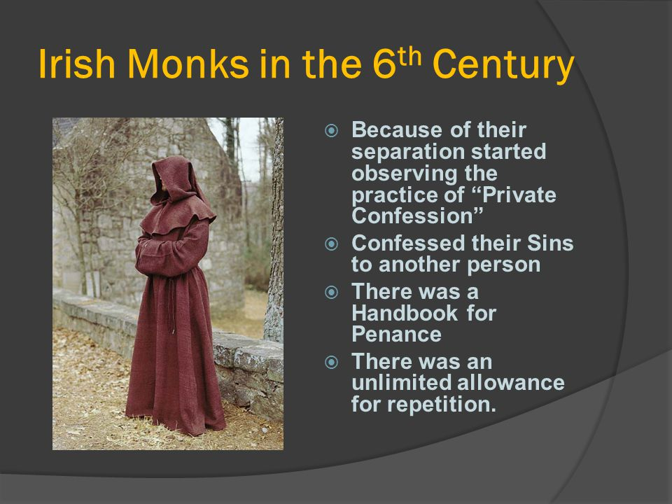 Irish Monks in the 6th Century