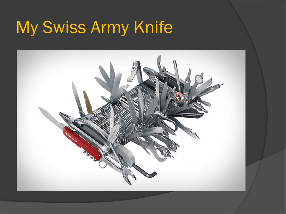 My Swiss Army Knife